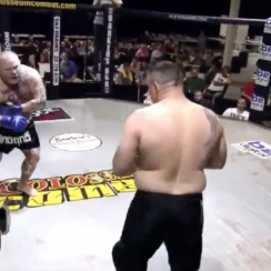 MMA fighter Johnathan Ivey fakes heart attack (video)