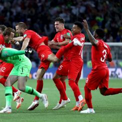 England beats Colombia in penalty kicks to reach the World Cup quarterfinals