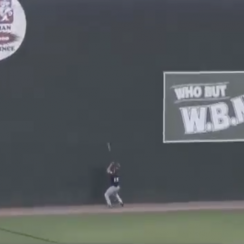 Tim Tebow: Josh Ockimey hits ball off head (video)