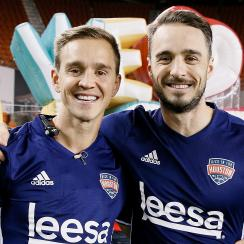 Who is Hunky Plane Guy: Euan Holden, Stuart Holden's brother