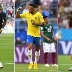 France, Brazil and Belgium are alive in the World Cup quarterfinals