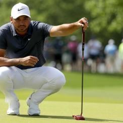 Jason Day uses the TaylorMade Spider Tour Red, and it's helped him to two wins this season.