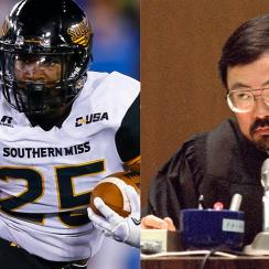 Judge Lance Ito, lance ito, falcons, atlanta falcons, ito smith, southern miss, southern miss golden eagles