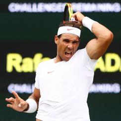 Rafael Nadal Mikhail Kukushkin Wimbledon 2018 results