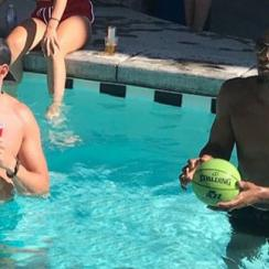 Donovan Mitchell: Jazz G crashes Fourth of July party (photo)