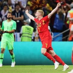 Belgium defeats Brazil in the World Cup quarterfinals