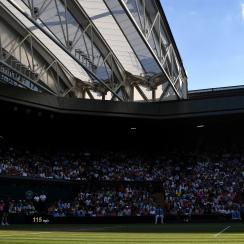Wimbledon midterm grades centre court novak djokovic
