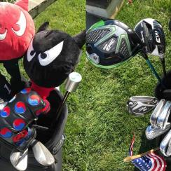 Kevin Na's golf clubs, 2018 Military Tribute at Greenbrier