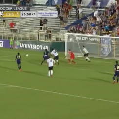 USL: North Carolina FC vs Charleston Battery finish (video)