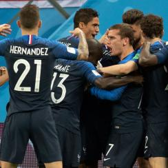 France has reached the World Cup final after beating Belgium
