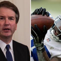 Brett Kavanaugh: SCOTUS nominee thinks Dez Bryant didn't catch it