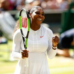 Wimbledon serena williams centre court camila giorgi