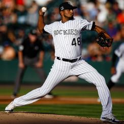 rockies, diamondbacks, diamondbacks position players pitching, german marquez