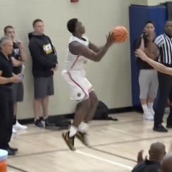 Chris Harris Jr: Texas A&M recruit's buzzer-beater (video)