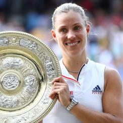 ANgelique Kerber wins wimbledon 2018 serena williams