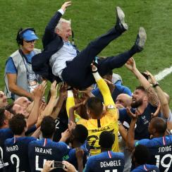 Didier Deschamps wins the World Cup as a player and manager