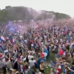 France celebrates World Cup