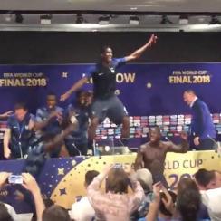 France crashes Didier Deschamps's press conference