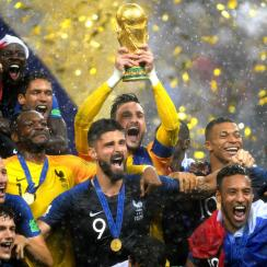 France wins the 2018 World Cup