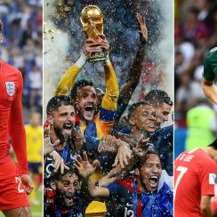 England, France and Germany had varying experiences at the World Cup