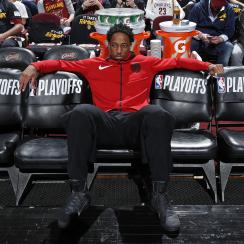 DeMar DeRozan believed he wouldn't be traded