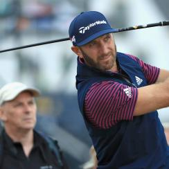 Dustin Johnson driver carnoustie british open championship