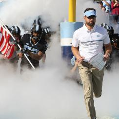 Larry Fedora: UNC coach out to save football, America