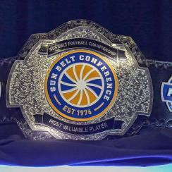 Sun Belt football: Championship game MVP gets belt