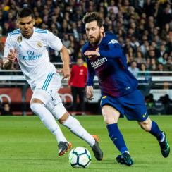 Barcelona will play Real Madrid in October and March in 2018-19.