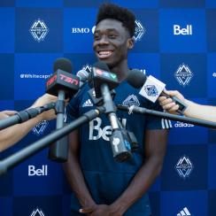 Alphonso Davies is headed to Bayern Munich