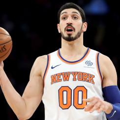 Knicks' Enes Kanter learned English with Spongebob, Jersey Shore