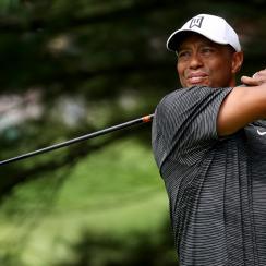 Tiger Woods Friday Firestone WGC-Bridgestone Firestone