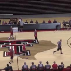 Texas Tech basketball: Fantasy camp player's hustle (video)