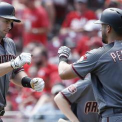 Diamondbacks' Paul Goldschmidt and David Peralta