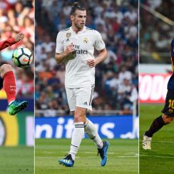 Antoine Griezmann, Gareth Bale and Lionel Messi will star in La Liga in 2018-2019