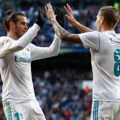 Gareth Bale and Toni Kroos lead Real Madrid into the 2018-19 season