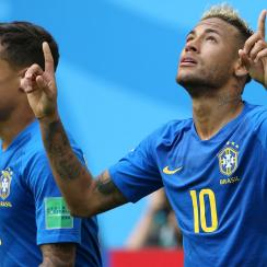 Neymar and Philippe Coutinho will take on the USA in a friendly