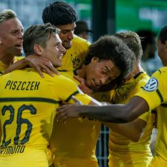 Dortmund advances in the DFB Pokal