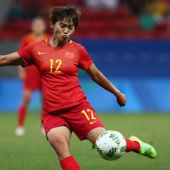 Asian Games: China's Wang Shanshan has 9 goals vs Tajikistan