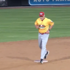 Butch Hobson: Chicago Dogs manager ejected again (video)