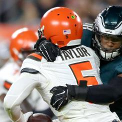 NFL: AUG 23 Preseason - Eagles at Browns