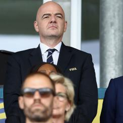 Gianni Infantino comments on La Liga's plan to play regular season games in the USA