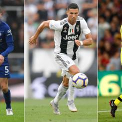 Jorginho, Cristiano Ronaldo and Alisson have been involved in key transfers this summer