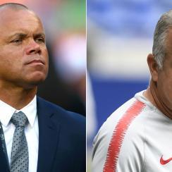 Earnie Stewart is the U.S. men's national team GM, while Dave Sarachan is its coach