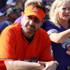 Marlins Man: Laurence Leavy returns to Miami ballpark