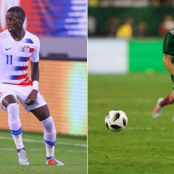 The USA hosts Mexico in a friendly in Nashville