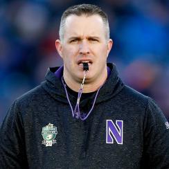 Pat Fitzgerald: Northwestern coach calls RPO communism