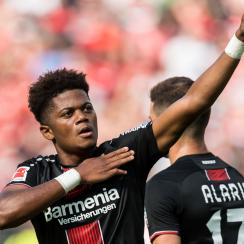 Leon Bailey is at the heart of Bayer Leverkusen's youth movement