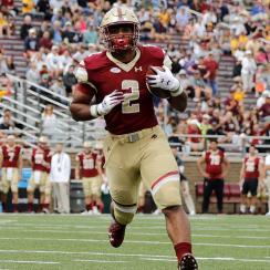 Boston College RB AJ Dillon