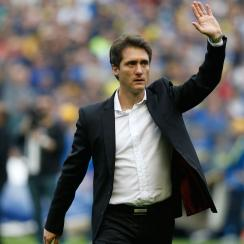 Guillermo Barros Schelotto is the Boca Juniors manager